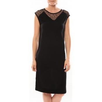 Vêtements Femme Robes courtes Vero Moda Shake It SL Knee Dress 10105501 Noir Noir