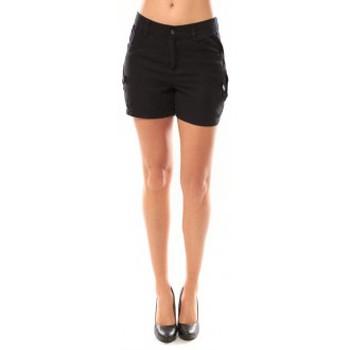 Vêtements Femme Shorts / Bermudas Vero Moda Sunny Day Shorts 10108018 Noir Noir