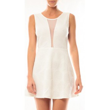 Vêtements Femme Robes courtes Vera & Lucy Robe Lucce 9199 Blanc Blanc