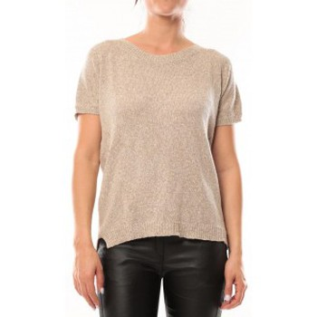 Vêtements Femme T-shirts manches courtes By La Vitrine T-Shirt S13010 Taupe Marron