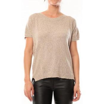 Vêtements Femme T-shirts manches courtes By La Vitrine T-Shirt S13010 Taupe Marron