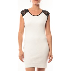 Vêtements Femme Robes courtes Dress Code Robe Love Look 320 Blanc Blanc