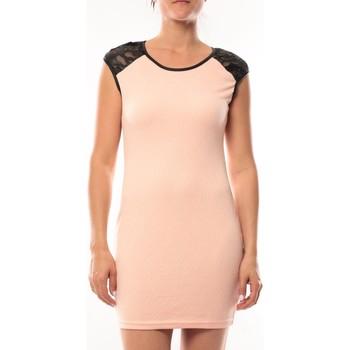 Vêtements Femme Robes courtes Dress Code Robe Love Look 320 Rose Rose