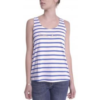 Vêtements Femme Débardeurs / T-shirts sans manche Little Marcel Débardeur Domino E14IBF031 Blanc Blanc