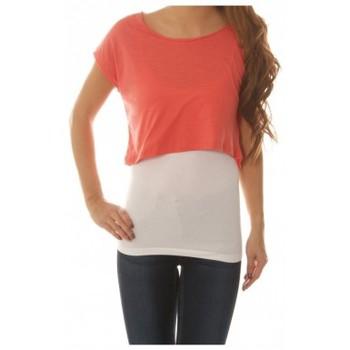 Vêtements Femme Tops / Blouses Vero Moda Shorty Wide Top Rose