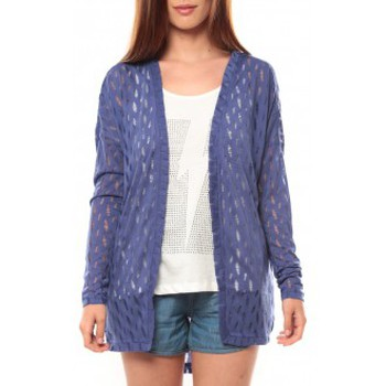 Vêtements Femme Gilets / Cardigans Vero Moda Coon LS Cardigan 10111383 Bleu Bleu