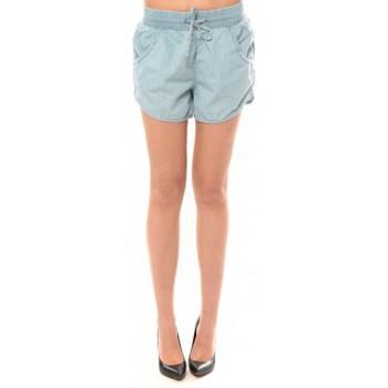 Vêtements Femme Shorts / Bermudas Vero Moda Cashua LW Loose Short Shorts 10108195 Bleu clair Bleu