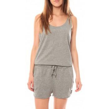 Vêtements Femme Shorts / Bermudas Vero Moda Chris SL Playsuit 10111225 Gris Gris