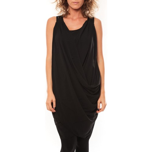 Vêtements Femme Robes courtes Vero Moda ROBE Blakie SL Short Dress Noir Noir