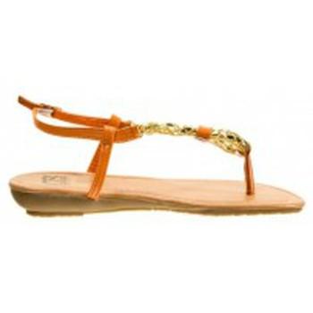 Chaussures Femme Tongs Cassis Côte d'Azur Tongs Typie Orange Orange