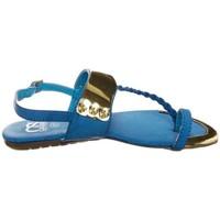 Chaussures Femme Sandales et Nu-pieds Cassis Côte D'azur Sandales Fiduz Bleu Bleu