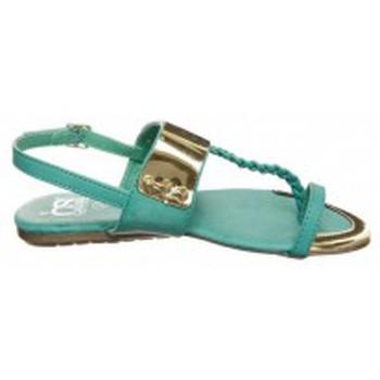 Chaussures Femme Tongs Cassis Côte D'azur Tongs Fiduz Vert Vert