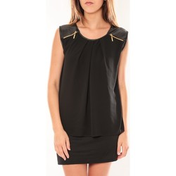 Vêtements Femme Robes courtes Dress Code Robe ANM Moda Noir Noir