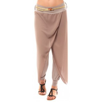 Vêtements Femme Pantacourts Dress Code Pantalon O.D Fashion Beige Beige