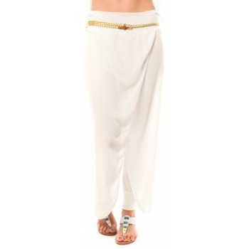 Vêtements Femme Pantacourts Dress Code Pantalon O.D Fashion Blanc Blanc