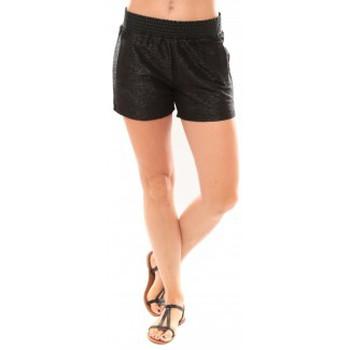 Vêtements Femme Shorts / Bermudas Vero Moda Grooved NW Shorts Blue 10113956 Noir Noir
