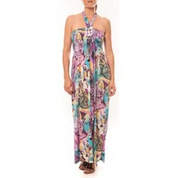 Vêtements Femme Robes longues Nina Rocca Robe Sylvia F587 Violet Violet