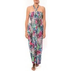 Vêtements Femme Robes longues Nina Rocca Robe Sylvia F587 Bleu Bleu