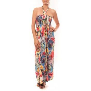 Vêtements Femme Robes longues Nina Rocca Robe Sylvia F587 Rose Rose