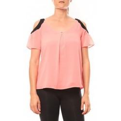 Vêtements Femme T-shirts manches courtes Comme Des Filles Comme des Garçons T-shirt Moni&Co 328 Fushia Rose