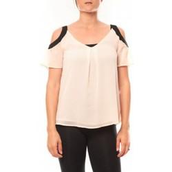 Vêtements Femme T-shirts manches courtes Comme Des Filles Comme des Garçons T-shirt Moni&Co 328 Rose Rose
