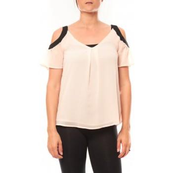 T-shirts manches courtes Comme Des Garcons T-shirt Moni&Co 328 Rose