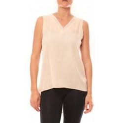 Vêtements Femme Débardeurs / T-shirts sans manche De Fil En Aiguille Débardeur Voyelle L147 Rose Rose
