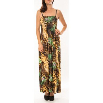 Robes By La Vitrine Robe Huamei F723 Vert