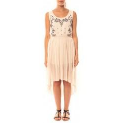 Vêtements Femme Robes De Fil En Aiguille Robe Victoria & Karl GH0012 Rose poudre Rose