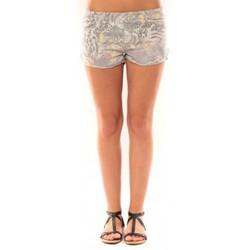 Vêtements Femme Shorts / Bermudas De Fil En Aiguille Short Victoria & Karl Gris Gris