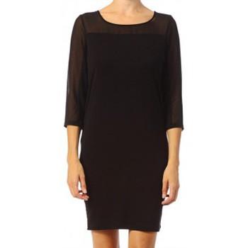 Vêtements Femme Robes courtes Vero Moda Jake 3/4 Short Dress It 10118490 Noir Noir