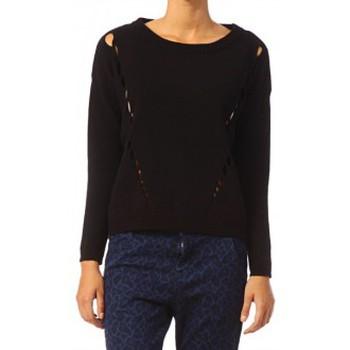 Vêtements Femme Pulls Vero Moda Parma New LS Oversize Blouse 10119636 Noir Noir