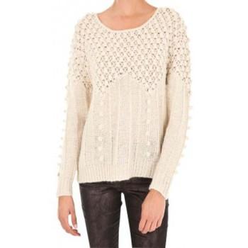 Vêtements Femme Pulls Vero Moda Carrara LS O-Neck Rep 1 10119638 Blanc Blanc