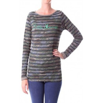 Vêtements Femme T-shirts manches longues Little Marcel T-shirt Tamanite H14IBF026 Kaki Vert