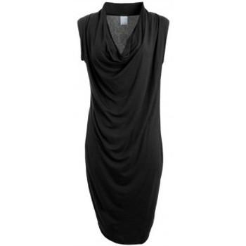 Vêtements Femme Robes courtes Vero Moda Dina Drapy S/L Short Dress It Noir Noir