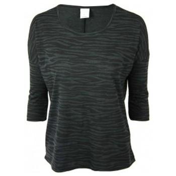 Vêtements Femme T-shirts manches courtes Vero Moda Poda Cool 3/4 Top GA 10115471 Noir Noir