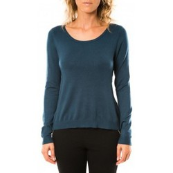Vêtements Femme Pulls Vero Moda Glory Eve LS Zipper Blouse 10114841 Marine Bleu