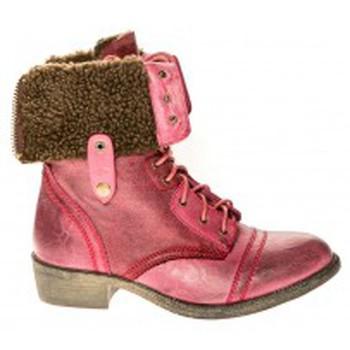 Chaussures Femme Bottines Cassis Côte d'Azur Bottines Arabella Bordeaux Rouge