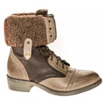 Chaussures Femme Bottines Cassis Côte D'azur Bottines Arabella Taupe Marron