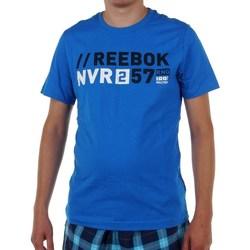 Vêtements Homme T-shirts manches courtes Reebok Sport Actron Graphic Bleu