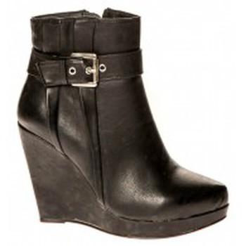 Chaussures Femme Bottines Cassis Côte d'Azur Bottines Alane Noir Noir