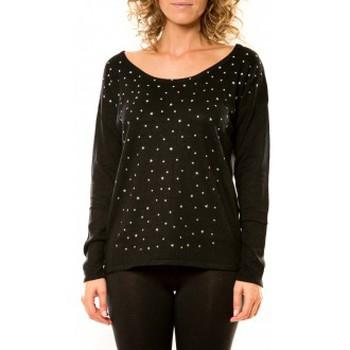 Vêtements Femme Pulls Vision De Reve Vision de Rêve Pull 12030 Noir Noir