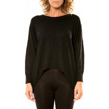 Vêtements Femme Pulls Vision De Reve Vision de Rêve Pull 12021 Noir Noir