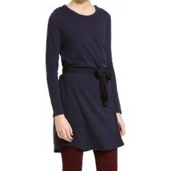 Vêtements Femme Robes courtes Petit Bateau Robe Manches Longues 1062413210 Bleu Bleu