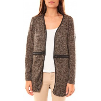 Gilets / Cardigans Nina Rocca Gilet L'Oasi Taupe