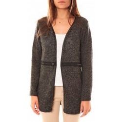 Gilets / Cardigans Nina Rocca Gilet L'Oasi Gris Anthracite