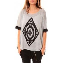 Vêtements Femme Pulls Tcqb Poncho Di&A 0196 Gris Gris