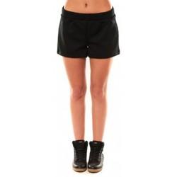Vêtements Femme Shorts / Bermudas Coquelicot Short CQTW14617 Noir Noir
