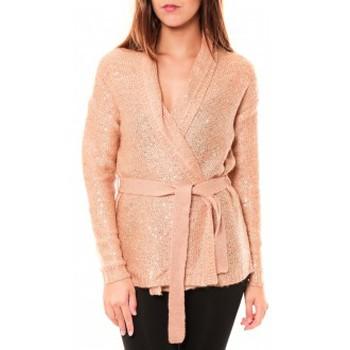 Vêtements Femme Gilets / Cardigans Vero Moda Zahra LS Wrap Cardigan 10114389 Vieux Rose Rose