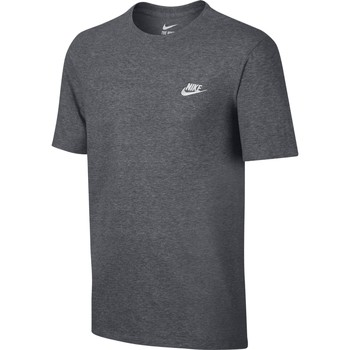Vêtements Homme T-shirts manches courtes Nike - T-Shirt Embroidered Futura - 827021 Gris